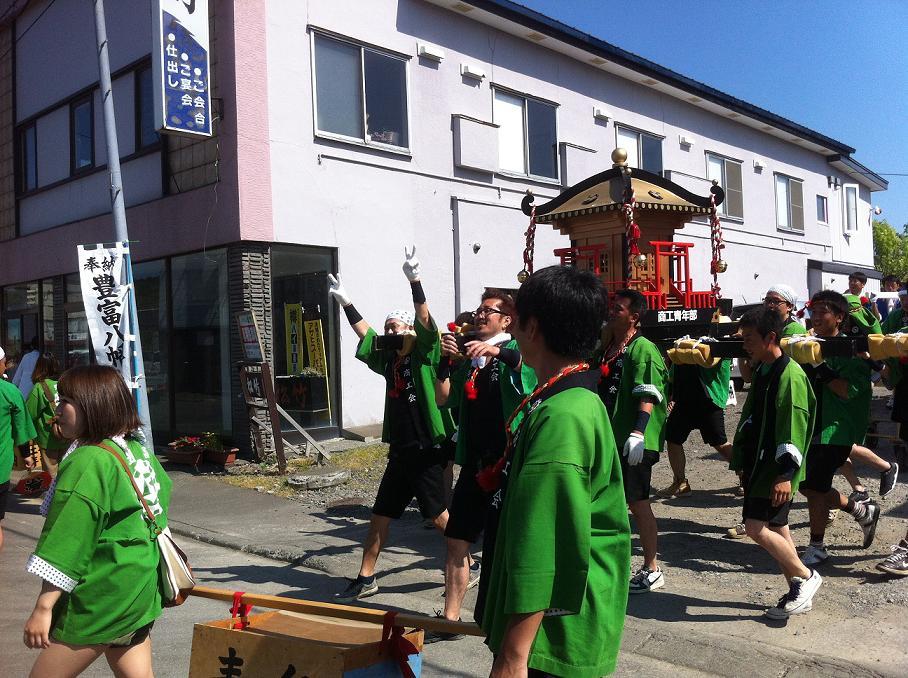 豊富八幡神社祭!!!