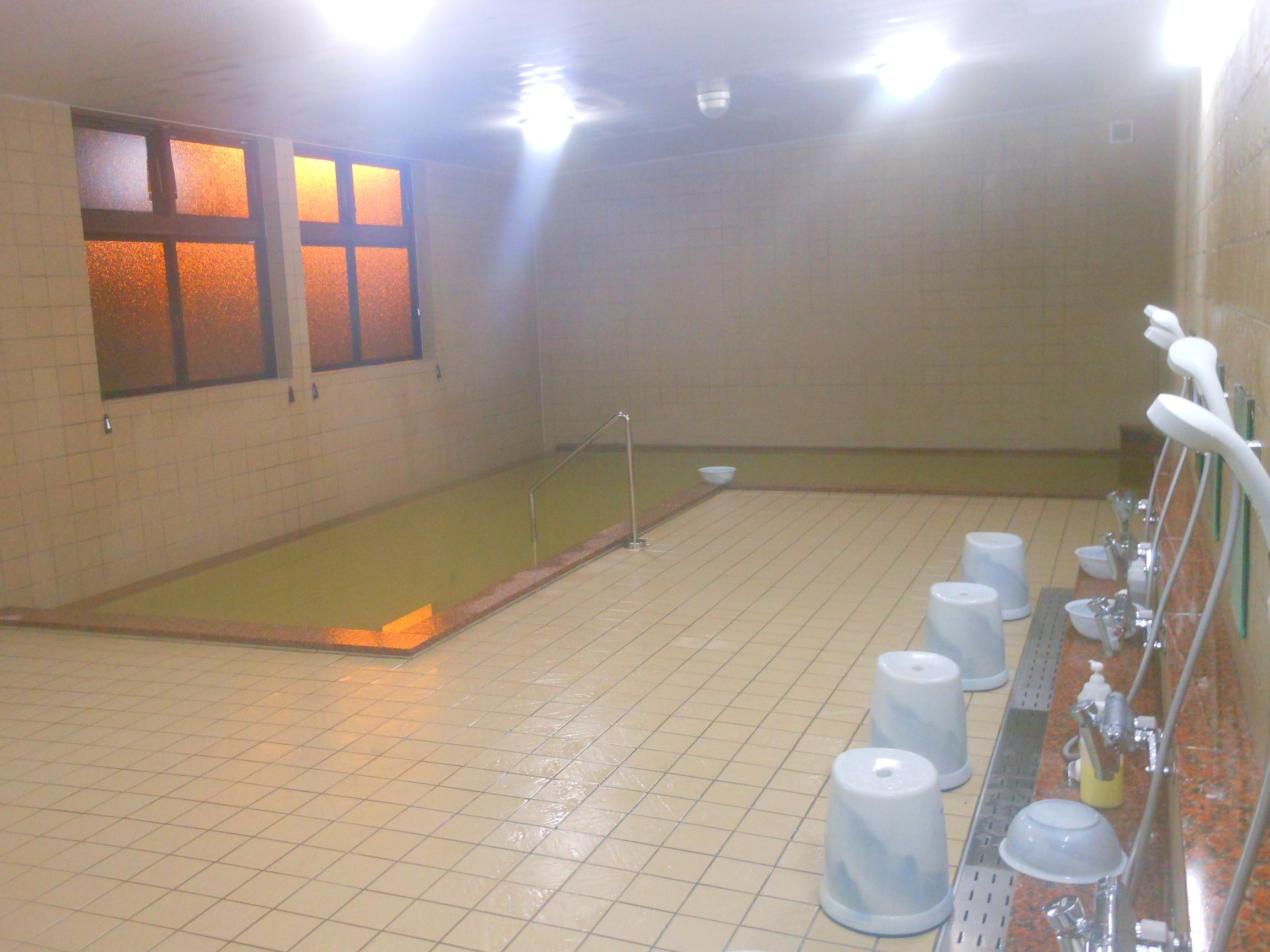 大浴場!リニューアルオープン!